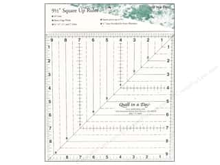 "Quilt in a Day $0 - $8: Quilt In A Day Rulers 9.5"" Square Up"