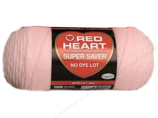 Red Heart Super Saver Yarn Baby Pink 7 oz.