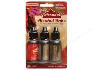 Inks Tim Holtz Adirondack Alcohol Ink by Ranger: Tim Holtz Adirondack Alcohol Ink Kit by Ranger Tuscan Garden