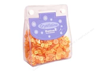 Sewing & Quilting: Dara Crystaline Button Assortment Gold