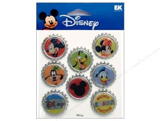EK Bottle Caps Disney Mickey