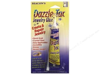 Semi-Annual Stock Up Sale Aleene's Tacky Glue: Beacon Glue Dazzle-Tac Jewelry 1oz Carded
