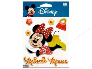 Unique Stickers: EK Disney Sticker 3D Minnie