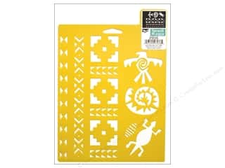 Craft & Hobbies Stencils: Delta Stencil Mania 7 x 10 in. Southwest
