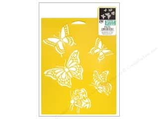 Delta Stencil Mania 7x10 Butterflies