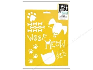 Delta Stencil Mania 7x10 Pets