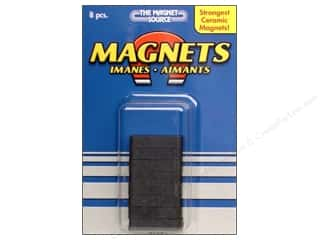 "Magnet Source, The Clearance Crafts: The Magnet Source Magnet Ceramic Block 1/4""x 7/8"" 8pc"