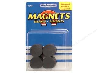 "carbon: The Magnet Source Magnet Ceramic Disc 3/4"" 8 pc"
