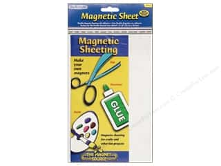 "Pom Poms Ribbon Work: The Magnet Source Magnet Sheeting with Adhesive 5""x 8"""