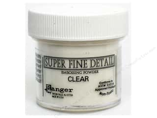 Ranger Embossing Powder Super Fine 1oz Clear