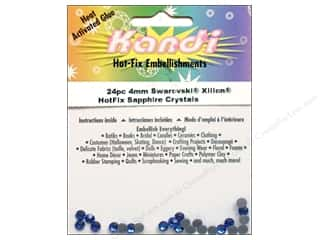 2013 Crafties - Best Adhesive: Kandi Swarovski Crystal 4mm Sapphire 24pc