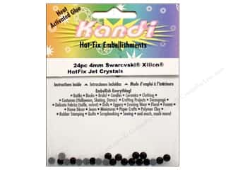 2013 Crafties - Best Adhesive: Kandi Swarovski Crystal 4mm Jet 24pc