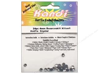 Heat Tools $24 - $28: Kandi Swarovski Crystal 4mm Crystal 24 pc