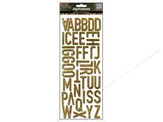 MAMBI Sticker Bling Alphabet Gold