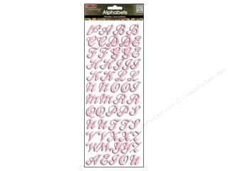ABC & 123 MAMBI Sticker: Me&My Big Ideas Sticker Bling Alphabet Pink