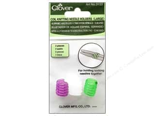Needle Holders: Clover Coil Knitting Needle Holder Large 3 pc
