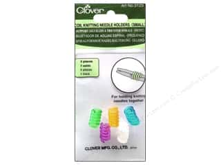 Needle Holders Yarn & Needlework: Clover Coil Knitting Needle Holder Small 5 pc