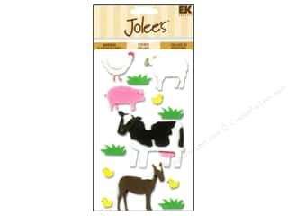 EK Jolee&#39;s 3D Stickers Farm Animals