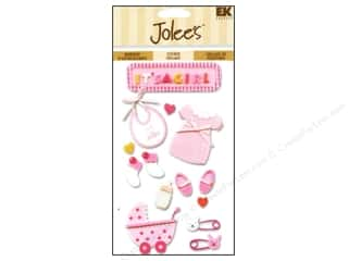 EK Jolee's Stickers Baby Girl
