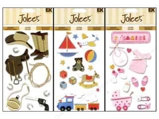 EK Jolee's 3D Stickers