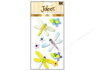 Jolee's Epoxy Stickers Dragonflies