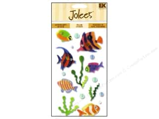 EK Jolee&#39;s 3D Stickers Vellum Tropical Fish