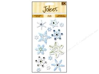 EK Jolee&#39;s 3D Stickers Vellum Snowflakes