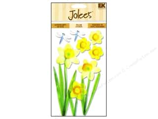 EK Success EK Jolee's Stickers: Jolee's Vellum Stickers Daffodils