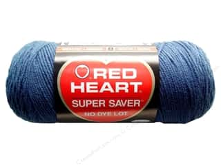 Blend Hot: Red Heart Super Saver Yarn #0380 Windsor Blue 7 oz.