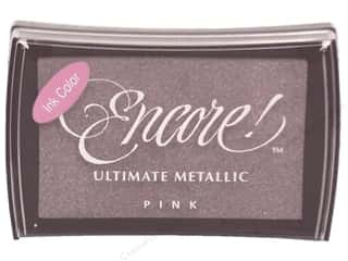 Pads $3 - $4: Tsukineko Encore! Ultimate Metallic Stamp Pad Pink