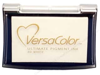 Tsukineko VersaColor Pigment Stamp Pad Lg White