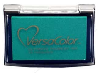 New $3 - $5: Tsukineko VersaColor Large Pigment Ink Stamp Pad Turquoise