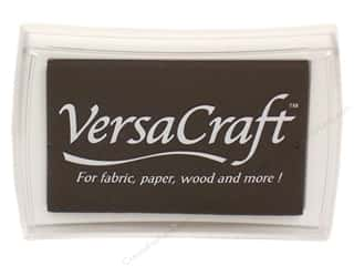 Stamps Black: Tsukineko VersaCraft Large Craft Ink Stamp Pad Real Black