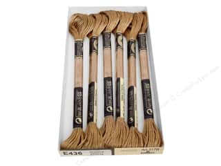 DMC Light Effects Embroidery Floss Antiques Golden Oak