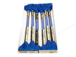 DMC Light Effects Embroidery Floss Jewels Blue Sapphire
