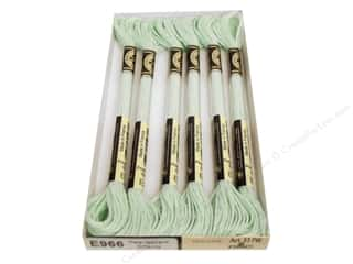 DMC Light Effects Embroidery Floss Pearlescents Lime