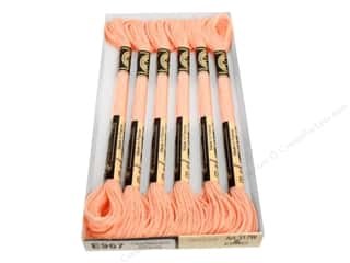 DMC Light Effects Embroidery Floss 8.7 yd. Soft Peach (6 skeins)