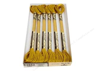 DMC Light Effects Embroidery Floss Precious Metals Dark Gold
