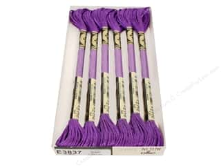 DMC Light Effects Embroidery Floss 8.7 yd. #3837 Jewel Effects Purple Ruby