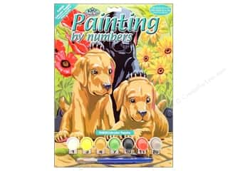 Royal Rub Ons Projects & Kits: Royal Paint By Number Junior Small Labrador Puppies
