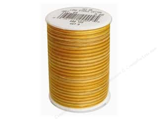 Golden Threads Quilting: Signature 100% Cotton Thread 500 yd. #M09 Variegated Golden Harvest