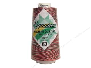 Signature 100% Cotton Thread 3000 yd. Variegated Holiday