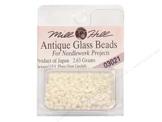Cross Stitch Project $0 - $5: 11/0 Glass Seed Beads by Mill Hill  #3021 Antique Royal Pearl