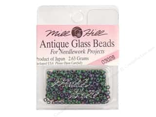 11/0 Glass Seed BeadsMill Hill  Antique Juniper Green