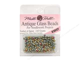 11/0 Glass Seed Beads by Mill Hill  Antique Abalone