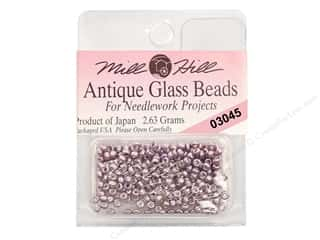 Metal & Tin $10 - $110: 11/0 Glass Seed Beads by Mill Hill  #3045 Antique Metallic Lilac