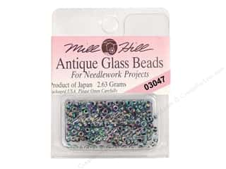 11/0 Glass Seed Beads by Mill Hill  Antique Blue Iris