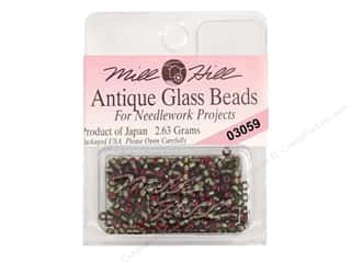 11/0 Glass Seed Beads Mill Hill  Antique Green Velvet