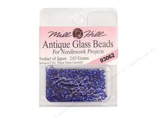 11/0 Glass Seed Beads by Mill Hill  Antique Blue Velvet