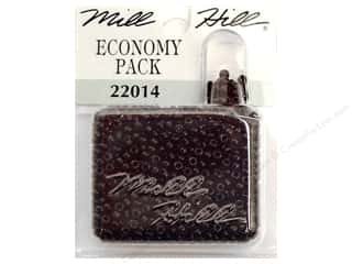 Beads Black: Millhill Economy Pack Beads Black